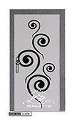 درب ضد آب برجسته ABS D711